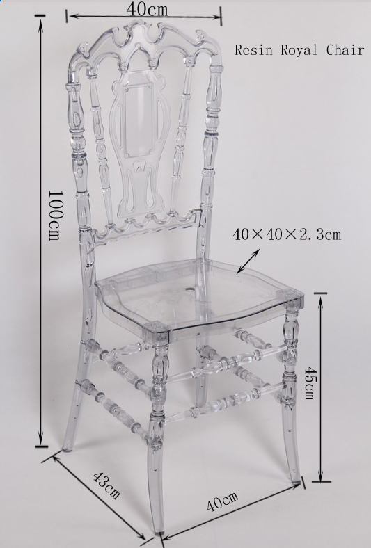 Crystal royal wedding chair for sale view