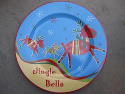 Christmas ceramic pie plates , Christmas ceramic plate , Christmas ceramic cake plate