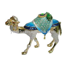 cute golden camel trinkets/egypt craft/trinket box wholesale camel