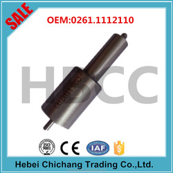 Diesel engine fuel pump injector nozzle S type