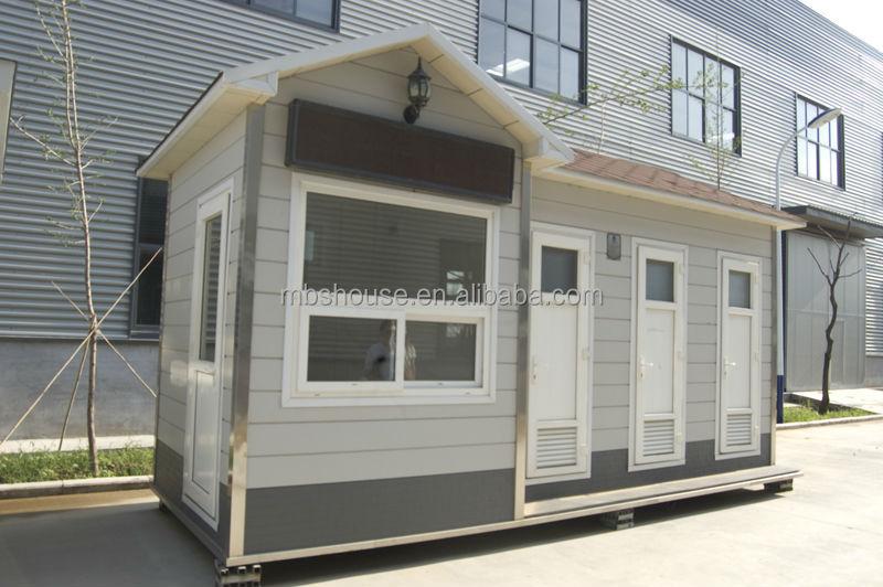 Eco friendly prefab portable toilets china portable for Are prefab houses cheaper