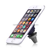 Universal 360 degree rotating mini magnet car air vent phone mount for iPhone 6 plus