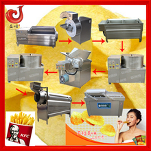 fully automatic 304 stainless steel industrial machine for making powder patatoes for pringles