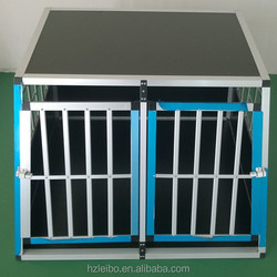 fashion outlook double-door dog cage