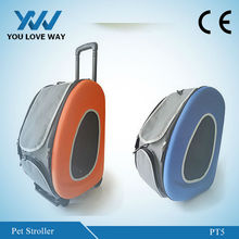 hot new products for 2015 Folding dog carrier on wheels