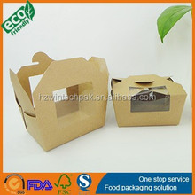 Customize Printed Disposable Eco-Friendly Paper Salad Container