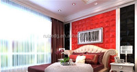 3d embossed decorative wall panels/ pattern design wall board