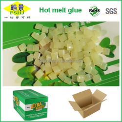 China manufacturer carton sealing hot melt adhesive