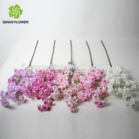 artificial cherry blossom branches indoor decorative wholesale wedding trees for wedding stage decoration