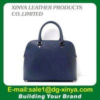 Beautiful handbag peache lechee leather purse with shoulder for women