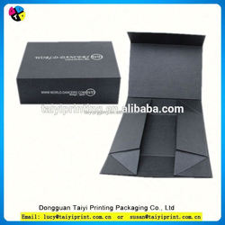 Customized printed 1-layer sbb luxury paper gift box for wine