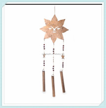 Sun Face Hanging Metal Bell Wall Wind chime