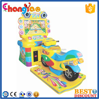 Holiday Motor Amusement Car Racing Arcade Video Motor Game Machine For Boys
