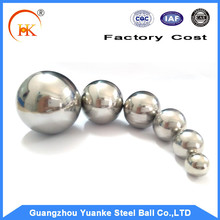 Optional size 7/16 inch (11.113 mm) AISI 201 stainless steel ball