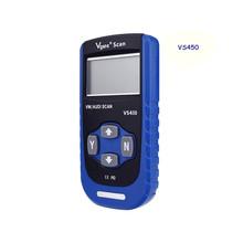 Top Quality VS-450 VAG CAN OBDII SCANTOOL Professional Diagnostic Auto Scanner car alarms 30PCS