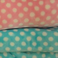 velvet for Pajama Micro Fiber dot plaid stripe printed warp knit two-side brushed fabric possum fleece