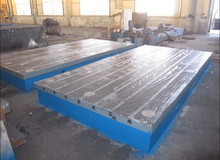 Forklift test Cast Iron surface plate