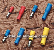 Bullet Shaped Male Pre-insulating Terminal