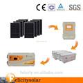 Solar fuera de la red independiente híbrido sistema de energía fotovoltaica con inversor controlador de carga mppt