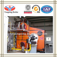 Competitive Price SZS Series Gas/Oil Fired Induction Steam Boiler