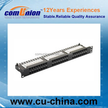 CAT.6A Patch Panel FTP UL approved