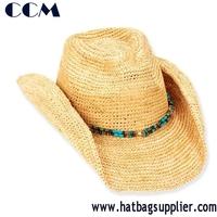 Walmart Crochet Paper Cowboy Hats Beads Band