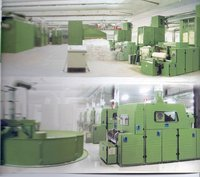 Bleached cotton machinery for surgical cotton