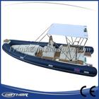 Reunir durável no uso alibaba fornecedores retrátil barco de plástico rígido
