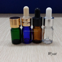 5ml glass essential oil bottles glass dropper bottles wholesale SLBd167
