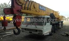 Used KATO Original Japan Truck Crane/NK500E 50T Truck Crane for Sale