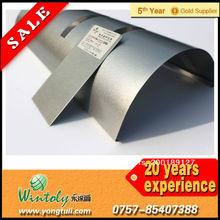 Herramientas de la chimenea de plata de recubrimiento en polvo brillante