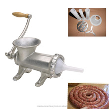 Cast Iron electroplate tinned Manual meat mince grinder
