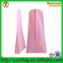 Pink Shower Proof Gown Dress wedding dress garment bag wholesale