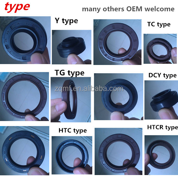 V Type Oil Seal Rubber Fabric Rotary Shaft Oil Seal For