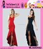 2015 Fashion Wholesale Sexy Evening Dress Red Black Sexy Evening Dress