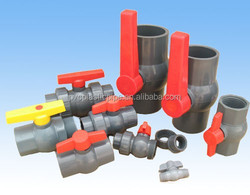 2015 PVC/UPVC Pipe Fitting Union 4 Inch/3pcPVC Ball Valve with good Sale Price