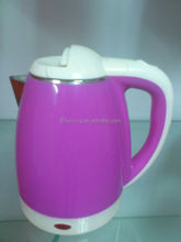 1.8L Stainless steel 201 and Plastic Electric kettle