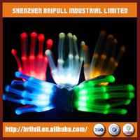 led finger light gloves flashing rainbow color