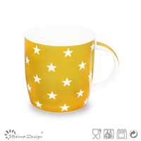 plain new bone fine mug magic mug with decals