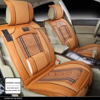 Full Set Car Seat Cover Summer Car Seat Cushion Car Seat Covers 3 Kinds Of Color General Ice Silk Cushion