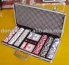 300 pcs chips aluminum case