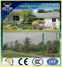 Welded Wire Mesh Panel Plastic Garden Fence for Garden Decoration & Plants Brackets application