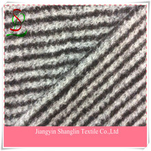 Striped wool fabric for garment,overcoat
