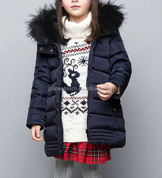 Dark blue girls boutique clothing direct from China