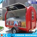 móvel de cozinha alimentos catering trailer