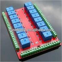 Standard RM16LS 16-channel Relay Control Module/Expansion Board Low Level 5V/12V/24V Optional