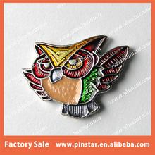 Pinstar Factory Wholesale Colorful Soft Enamel Night Owl Custom Animal Lapel Pin