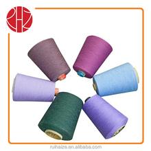 china supplier Ne18/1 acrylic polyester blend yarn knitting yarn