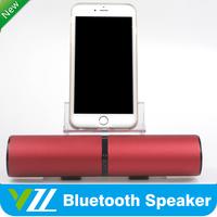 Used Equipment Elegant Red Wireless Speaker Bluetooth, Volumn Button Audio Speaker
