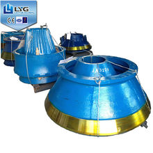 HIGH MANGANESE STEEL MANTLE CONE CRUSHERS CASTING PARTS SUPPLIER IN SHANGHAI